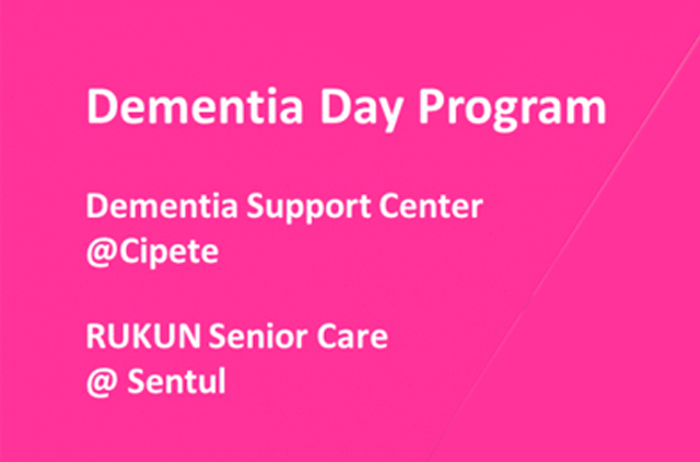 demensia day program
