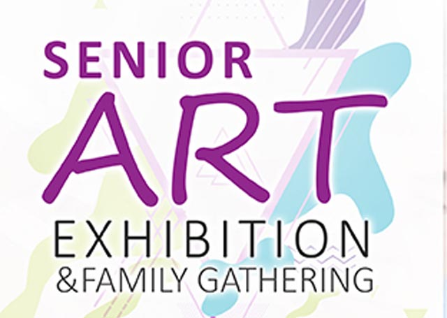 logo senior art exhibition rukun senior living