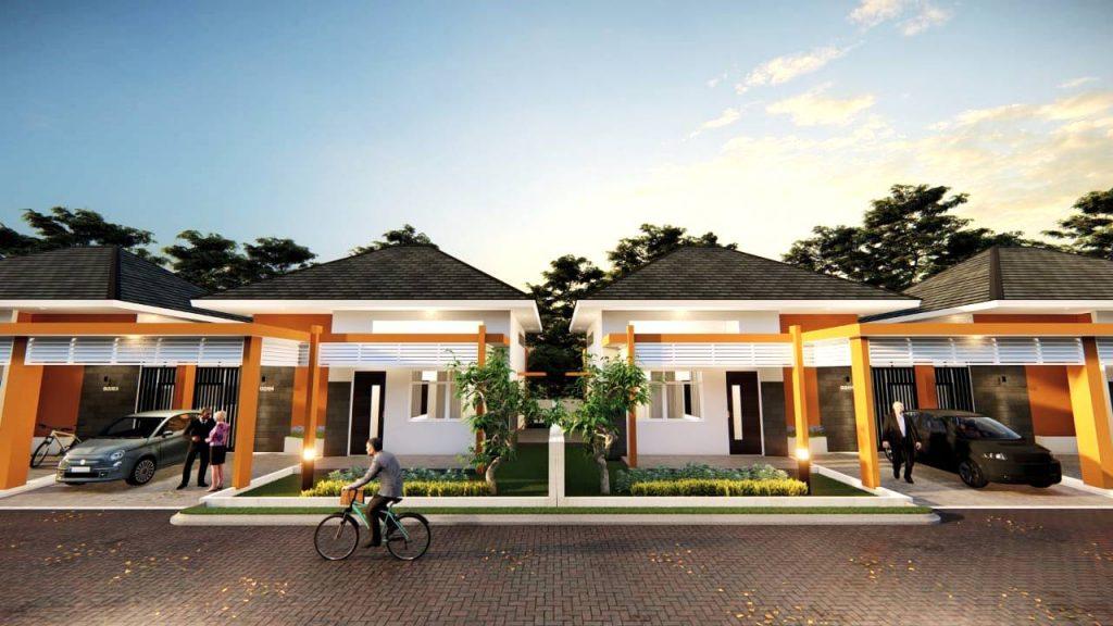 The Villas Tipe Bougenville 102, rumah villa untuk lansia senior