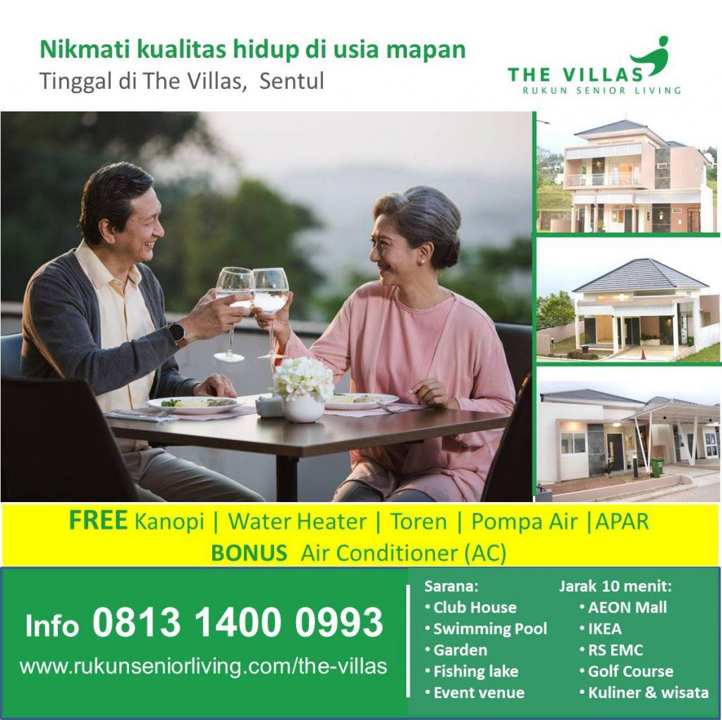 The VIllas - RUKUN Senior Living